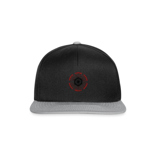 Red Poppy Seeds Mandala - Snapback Cap