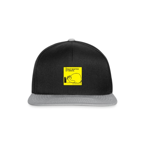Great Master of Siesta - Snapback Cap