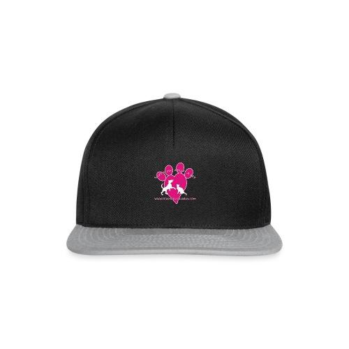 LOGO www.Straydogscalarasi.com pink - Snapback cap