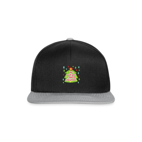 We wish you a Merry Christmas - Snapback Cap
