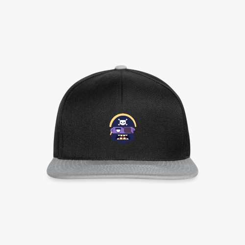 Mini Monsters - Captain Zed - Snapback Cap