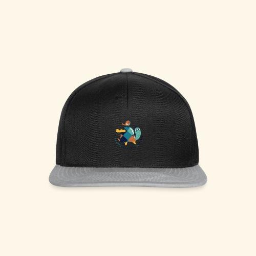 Tartaruga e uccellino - Snapback Cap