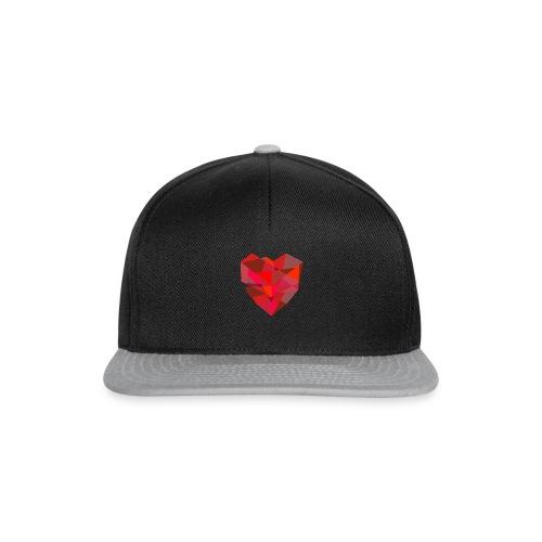 Poly-Heart - Gorra Snapback