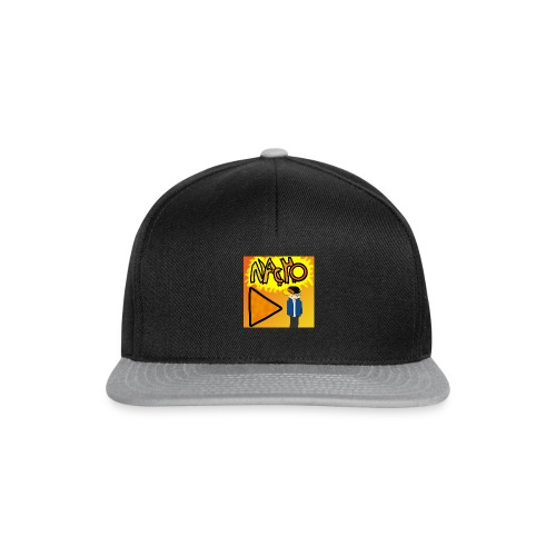Nacho Title with Little guy - Snapback Cap