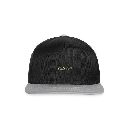 Camo Curvy Wave Clothing - Snapback Cap