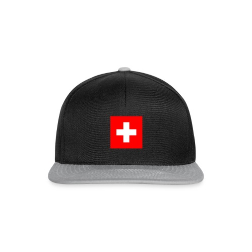 Flag_of_Switzerland - Snapback Cap