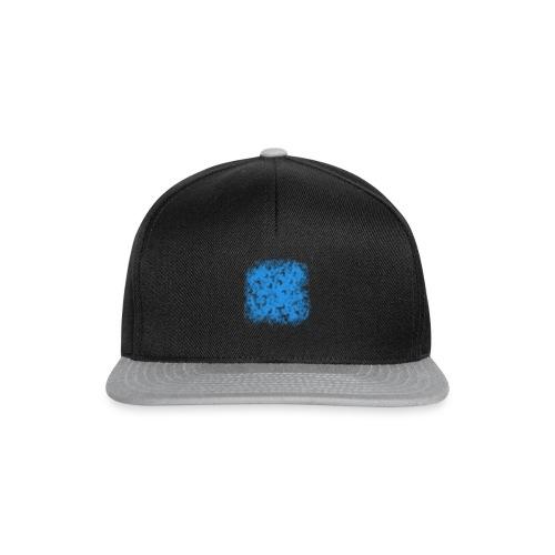 blue-transparent - Snapback Cap