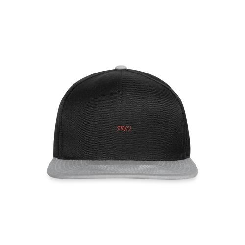 PNO(PlayerNrOne)simbol in rot - Snapback Cap
