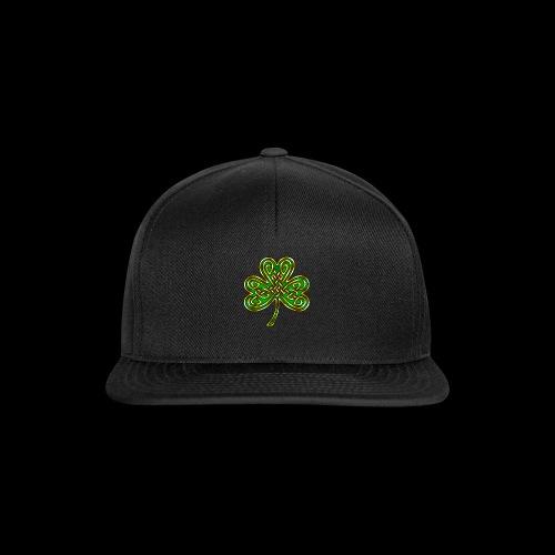 Celtic Knotwork Shamrock - Snapback Cap