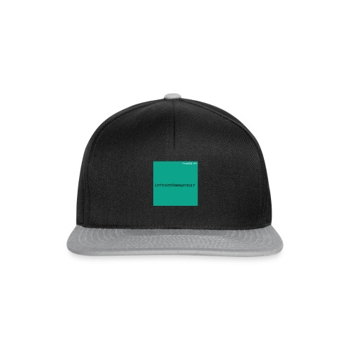 Let's get Knowitally Custom Standards - Snapback Cap
