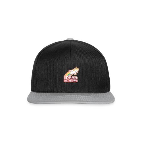 Einhorn Regenbogen Design - Snapback Cap
