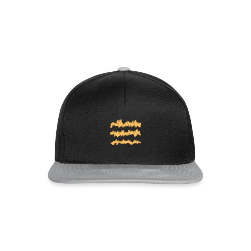 Orange_Sample.png - Snapback Cap
