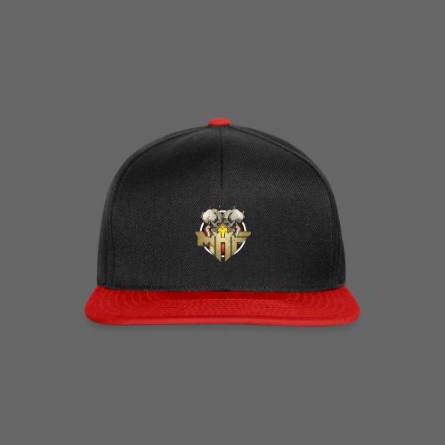 new mhf logo - Snapback Cap