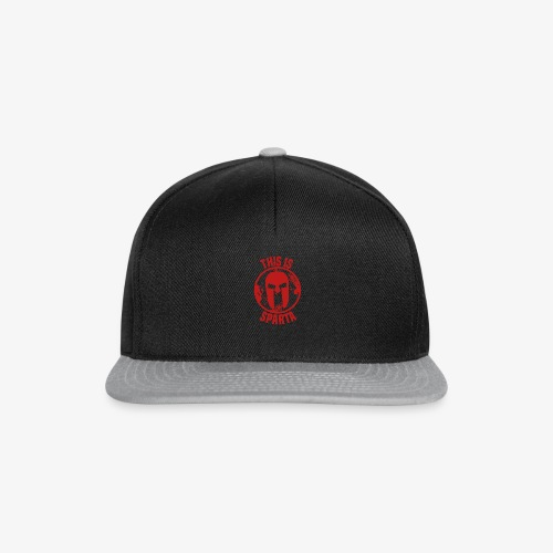 this is sparta - Snapback Cap