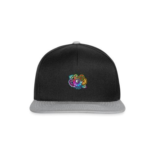 Coloured Nature Mandala - Snapback Cap