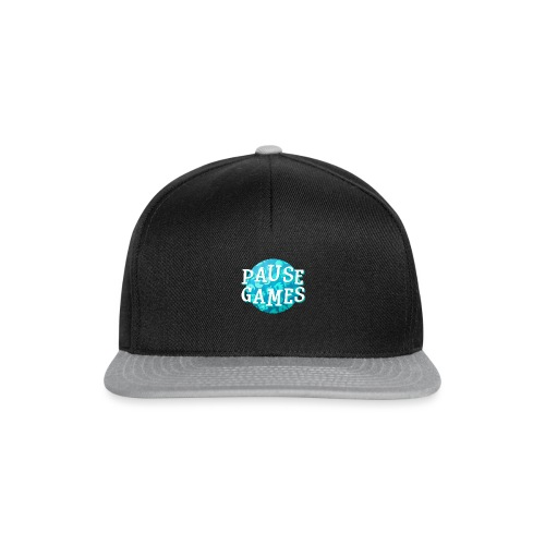 Pause Games New Design Blue - Snapback Cap