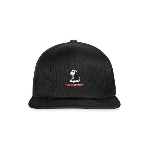 Aforisma cinofilo - Snapback Cap