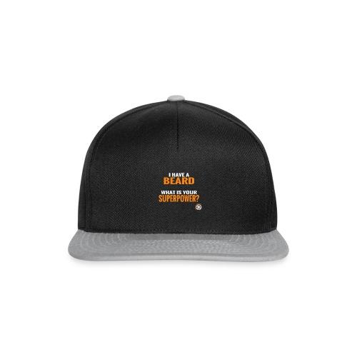 Beard Superpower - Snapback cap