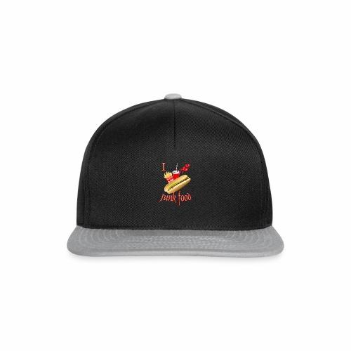 I love Junk food - Snapback Cap