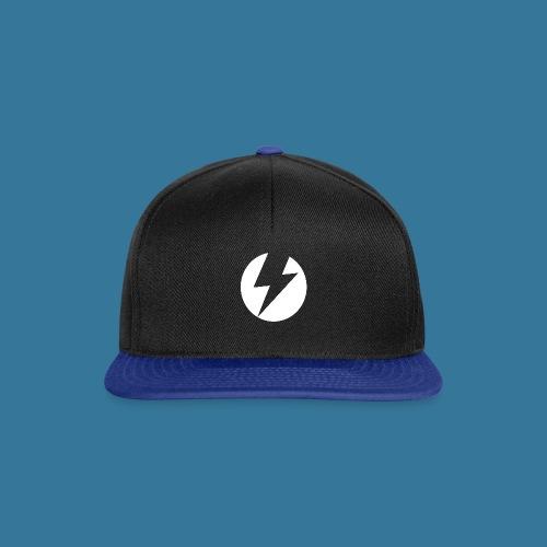 BlueSparks - White - Snapback Cap