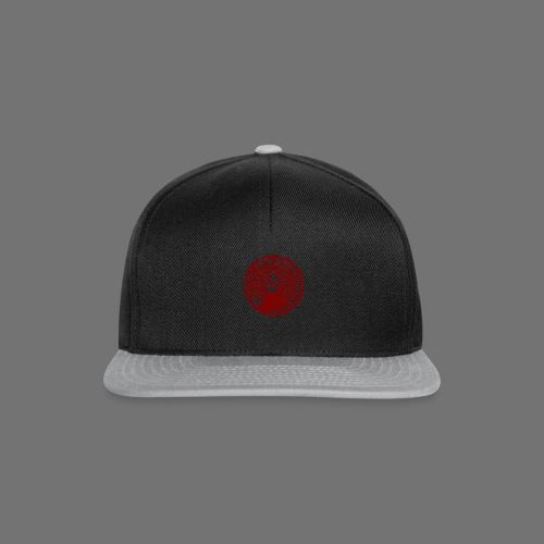 Maschinentelegraph (punainen oldstyle) - Snapback Cap