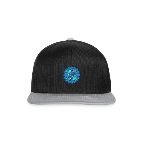 Asian Pond Carp - Koi Fish Mandala 1 - Snapback Cap