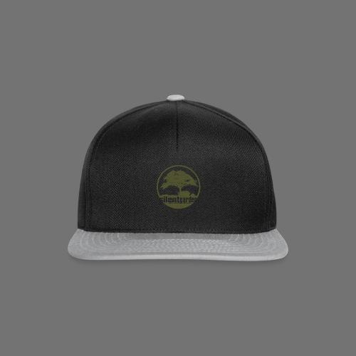 hiljainen puutarha (vihreä oldstyle) - Snapback Cap