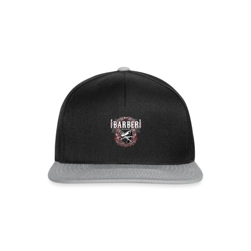 Barber Shop_03 - Snapback Cap