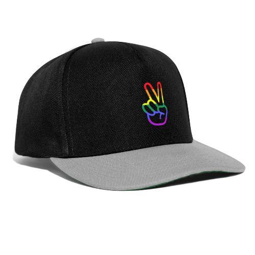 Peace Hand - Snapback Cap