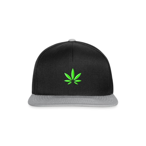 T-Shirt Design für Cannabis - Snapback Cap