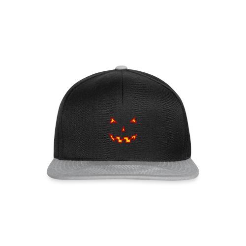 Halloween Gruselgesicht - Snapback Cap