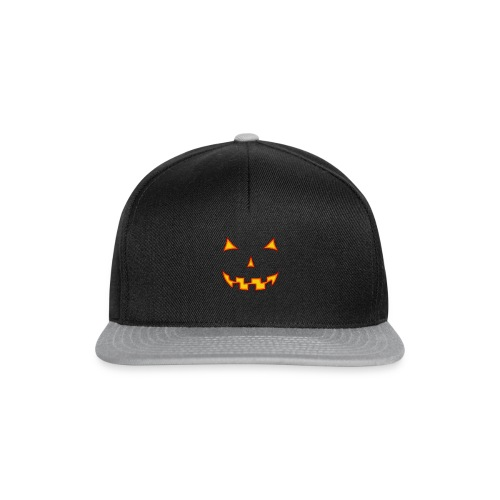 Halloween-Maske - Snapback Cap
