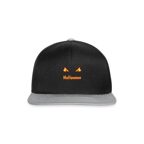 Halloween mit Gruselaugen - Snapback Cap