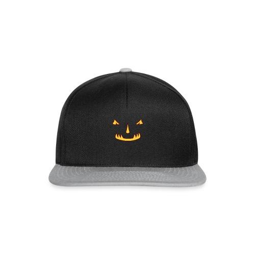 Halloween Kürbisgesicht - Snapback Cap