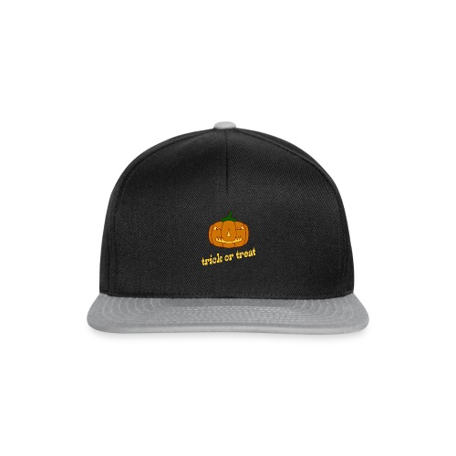 Halloween trick or treat mit Kürbis - Snapback Cap