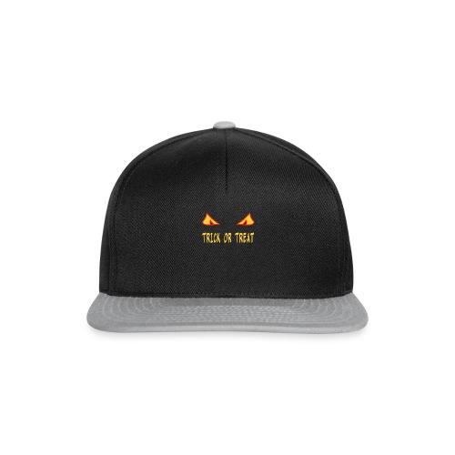 Halloween trick or treat mit Monsteraugen - Snapback Cap