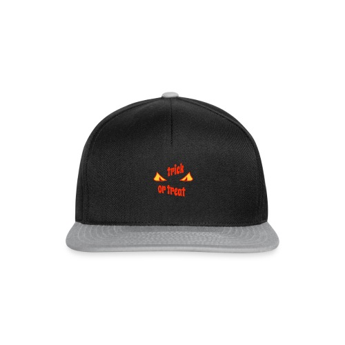 Halloween trick or treat mit Gruselaugen - Snapback Cap