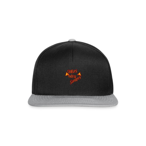 Halloween Süßes oder Saures mit bösen Augen - Snapback Cap