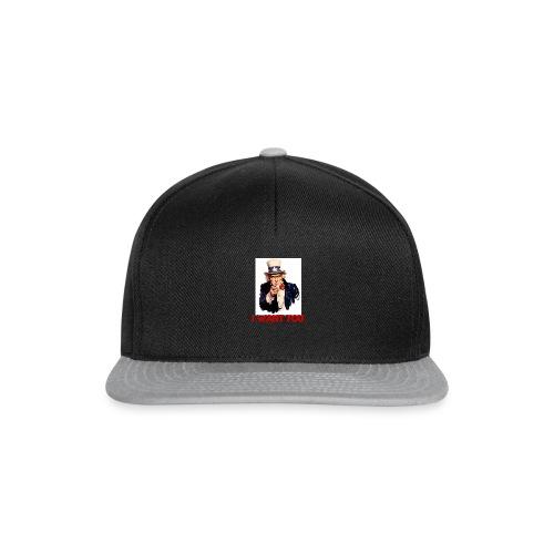 i want you - Snapback Cap