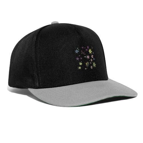 flowers and butterflies - Snapback Cap
