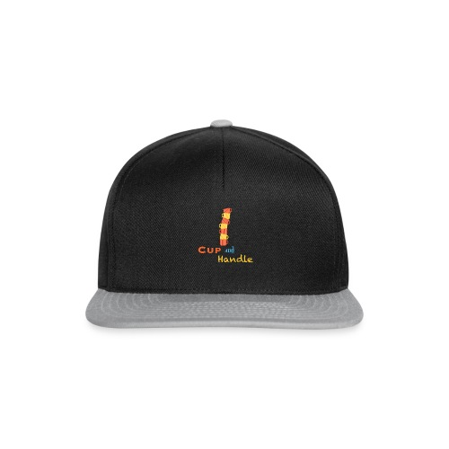T-Shirt Cup and Handle Traders Stock Market Forex - Snapback Cap