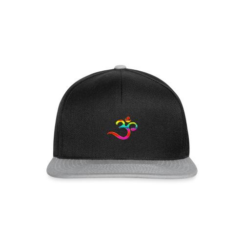 Om Mantra Symbol Yoga Regenbogen - Snapback Cap