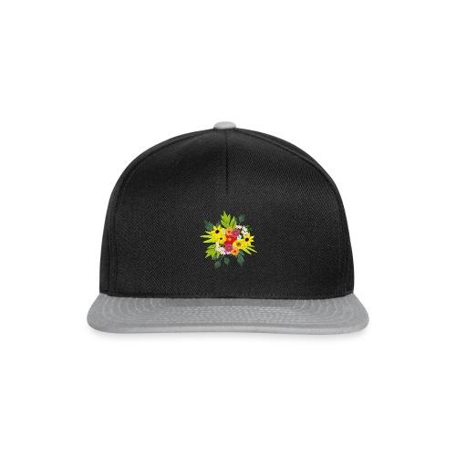 Flower_arragenment - Snapback Cap