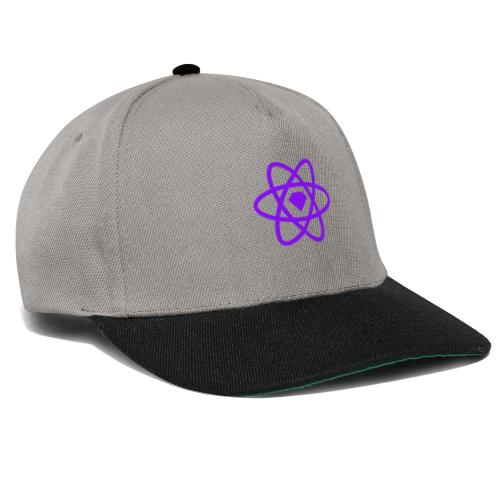 Sketch2React Dark Purple Logo - Snapback Cap