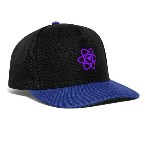 Sketch2React Dark Purple Logo - Snapback Cap