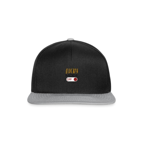 Lucky-Mode Off - Snapback Cap