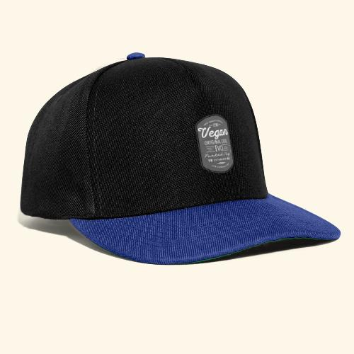 Vegan - The Original Cool Vintage Design - Snapback Cap