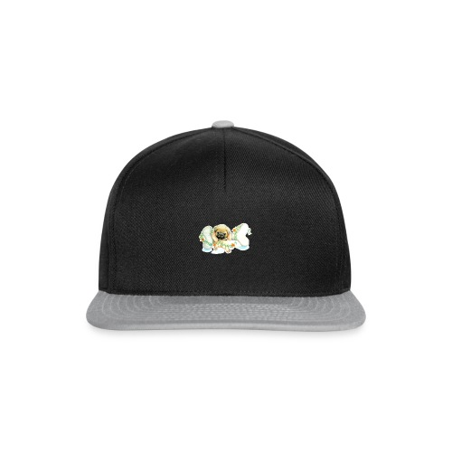 Mops knochen - Snapback Cap
