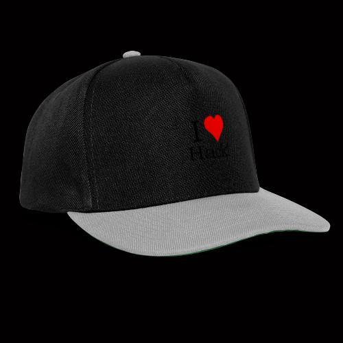 I Love Hack - Snapback Cap