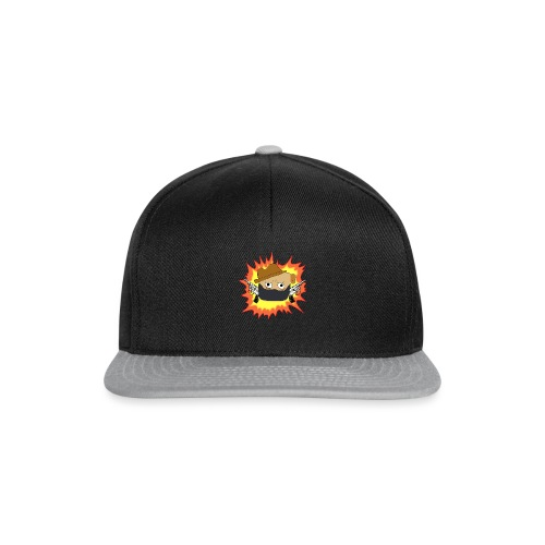 Outlaw PUG LOGO - Snapback-caps